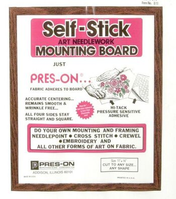 """Pres-On Mounting Board-11""""x14"""""""
