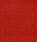 Snuggle Flannel Fabric-Red Dots