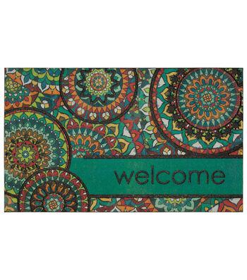 Mohawk Homes Doormat-Bohemian Kingdom Medallion & Welcome