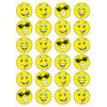 Yellow Smiles-Lemon Meringue Stinky Stickers 12 Packs