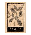 Penny Black Mounted Rubber Stamp 2.5\u0022X4\u0022-Peace