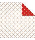 Kaisercraft Mix & Match Lattice Double-Sided Cardstock