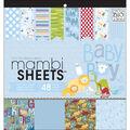 Mambi Specialty Cardstock Pad 12\u0022X12\u0022 48/Pkg-Oh Baby Boy