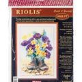 RIOLIS 8.25\u0027\u0027x11.75 Stamped Cross Stitch Kit-Second Life