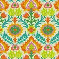 Waverly Sun N Shade Fabric 9\u0022x9\u0022 Swatch-Santa Maria Mimosa