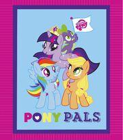 "No Sew Fleece Throw 48""-My Little Pony, , hi-res"