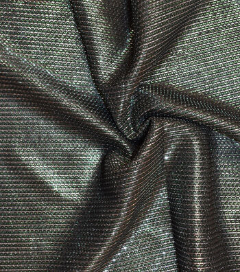 Metallics Mesh Fabric -Evergreen