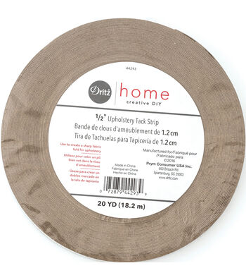 "Dritz Home 0.5"" Wide x 20Yds Upholstery Tack Strip Natural"