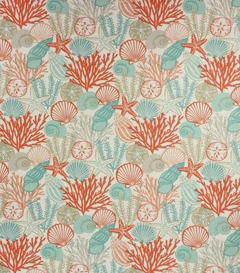 "Richloom Studio Lightweight Decor Fabric 54""-Coral Yuba"