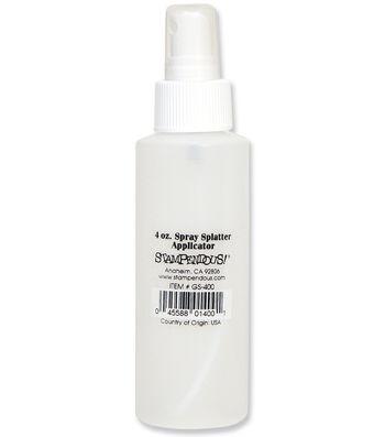 Spray Splatter Bottle 4 Ounces-