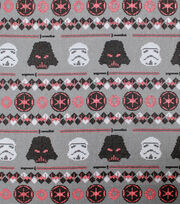 Disney Star Wars Christmas Cotton Fabric-Dark Side Sweater, , hi-res