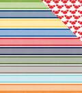 Under The Sea Double-Sided Cardstock 12\u0022X12\u0022-Swimmingly Stripe