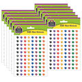 Teacher Created Resources Colorful Paw Prints Mini Stickers 12 Packs
