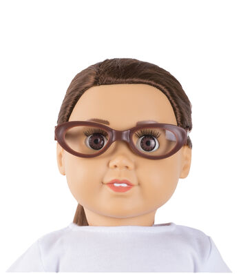 Springfield Boutique Dolls Glasses Brown
