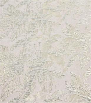 Jacquard Fabric-Metallic Abstract Floral