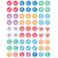 Teacher Created Resources Watercolor Planner Mini Stickers 12 Packs