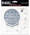 49 and Market 6\u0027\u0027x6\u0027\u0027 Laser Cut Shapes Archival Board-Wild & Free White
