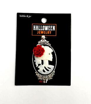 hildie & jo Halloween Jewelry Female Skeleton Pendant