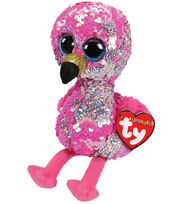 Ty Inc. Flippables Regular Sequin Pinky Flamingo, , hi-res