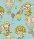 Home Decor 8\u0022x8\u0022 Fabric Swatch-Waverly Aerial Adventure/Creme de Menthe