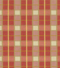 Waverly Multi-Purpose Decor Fabric 55\u0022-Courtship Plaid/Berry
