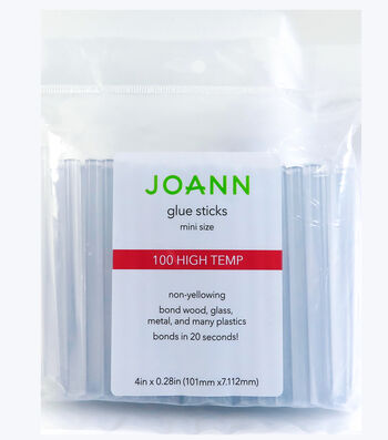 Joann Glue Sticks 100pc Mini High Temp 4""