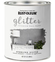Rust-Oleum 32 fl. oz. Glitter Interior Wall Paint, , hi-res