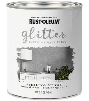 Rust-Oleum 32 fl. oz. Glitter Interior Wall Paint