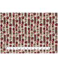 Christmas Cotton Fabric 43\u0022-Christmas Birdhouses