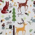Novelty Cotton Fabric 43\u0027\u0027-Happy Forest Friends