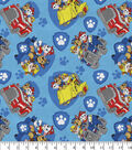 Disney Junior Paw Patrol Flannel Fabric -Rev Up