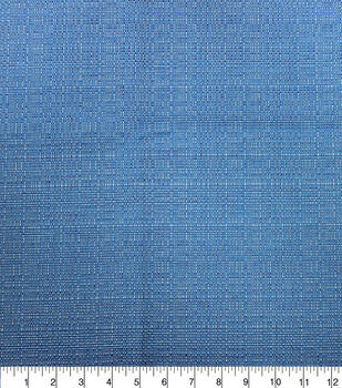 Solarium Outdoor Fabric-Linen Texture Granada Sky