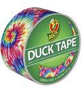 Patterned Duck Tape 1.88\u0022X10yd-Love Tie Dye
