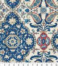 Waverly Sun N Shade Fabric 9\u0022x9\u0022 Swatch-Castille Baltic