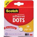 Scotch 75 pk 0.43\u0027\u0027 3D Pop-up Permanent Adhesive Dots
