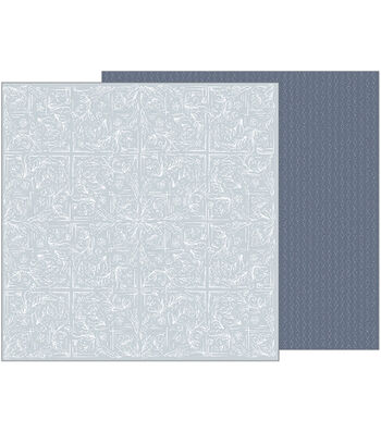 "Jen Hadfield Heart Of Home Double-Sided Cardstock 12""X12""-Tapestry"