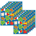 Carson Dellosa Holiday Shape Stickers, 72 Per Pack, 12 Packs