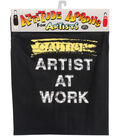 Attitude Artist Apron Black-Artist At Work