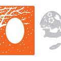 Sizzix Impresslits Embossing Folder & Dies-Changing of the Seasons