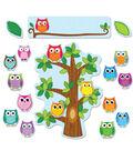 Colorful Owls Behavior Bulletin Board Set