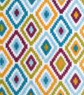 Anti-Pill Fleece Fabric 59\u0022-Diamond Zigzag