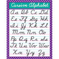 Teacher Created Resources Cursive Chart 6pk