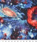 Novelty Cotton Fabric -Celestial Galaxy