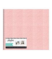 """Heidi Swapp Storyline 3 Post Bound Album 12""""X12""""-Pink Glitter, , hi-res"""