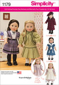 Simplicity Pattern 1179OS One Size -Crafts