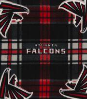 Atlanta Falcons Fleece Fabric -Plaid, , hi-res