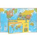 World Map International 500-Piece Jigsaw Puzzle