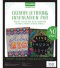 Crayola Creative Lettering Pad