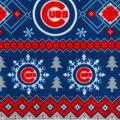 Chicago Cubs Fleece Fabric-Winter
