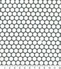 Quilter\u0027s Showcase Cotton Quilt Fabric 44\u0022-Dots Gray
